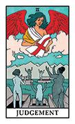 Judgement Tarot card in Modern Witch deck