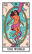 The World Tarot card in Modern Witch deck
