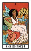 The Empress Tarot card in Modern Witch deck