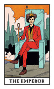 The Emperor Tarot card in Modern Witch deck