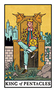 King of Pentacles Tarot card in Modern Witch deck