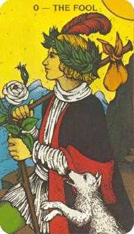 The Foolish Man Tarot Card - Morgan-Greer Tarot Deck