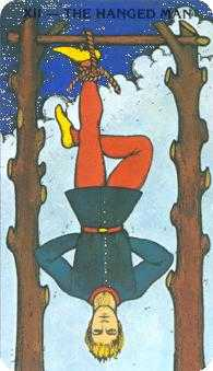The Hanged Man Tarot Card - Morgan-Greer Tarot Deck