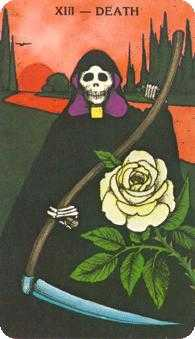 Death Tarot Card - Morgan-Greer Tarot Deck