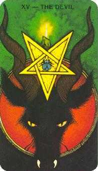 The Devil Tarot Card - Morgan-Greer Tarot Deck