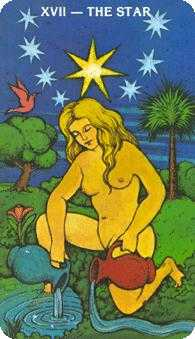 The Star Tarot Card - Morgan-Greer Tarot Deck