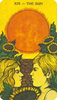 The Sun Tarot Card - Morgan-Greer Tarot Deck