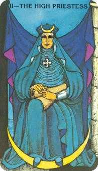 The High Priestess Tarot Card - Morgan-Greer Tarot Deck