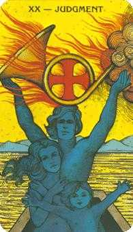The Judgment Tarot Card - Morgan-Greer Tarot Deck