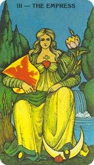 The Empress Tarot Card - Morgan-Greer Tarot Deck