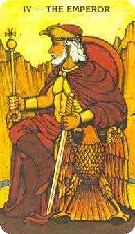 The Emperor Tarot Card - Morgan-Greer Tarot Deck