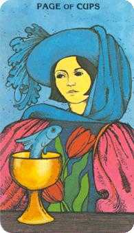Valet of Cups Tarot Card - Morgan-Greer Tarot Deck
