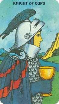 Knight of Cups Tarot Card - Morgan-Greer Tarot Deck