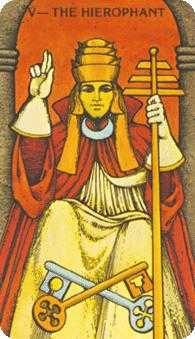 The Hierophant Tarot Card - Morgan-Greer Tarot Deck