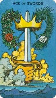 Ace of Swords Tarot Card - Morgan-Greer Tarot Deck