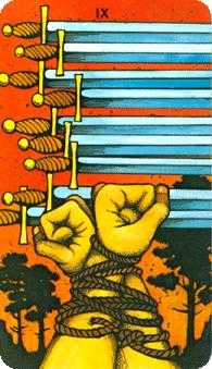 Nine of Swords Tarot Card - Morgan-Greer Tarot Deck