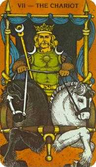 The Chariot Tarot Card - Morgan-Greer Tarot Deck