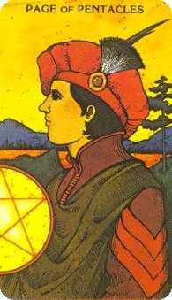 Page of Buffalo Tarot Card - Morgan-Greer Tarot Deck