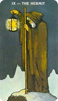 The Hermit Tarot Card - Morgan-Greer Tarot Deck