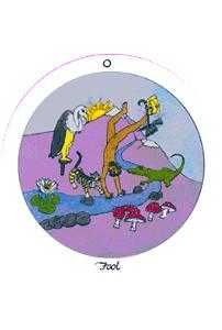 The Fool Tarot Card - Motherpeace Tarot Deck
