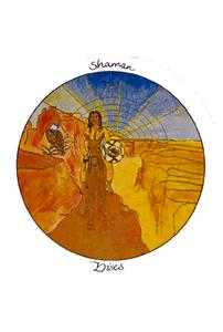 Shaman of Discs Tarot Card - Motherpeace Tarot Deck