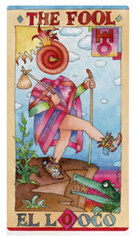 The Foolish Man Tarot Card - Napo Tarot Deck