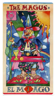 The Magus Tarot Card - Napo Tarot Deck