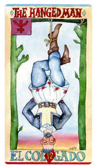 The Hanged Man Tarot Card - Napo Tarot Deck