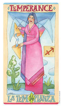 The Guide Tarot Card - Napo Tarot Deck