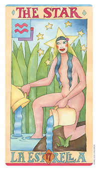 The Star Tarot Card - Napo Tarot Deck