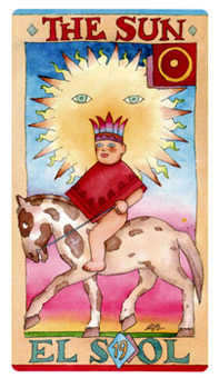 The Sun Tarot Card - Napo Tarot Deck