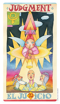 Judgment Tarot Card - Napo Tarot Deck