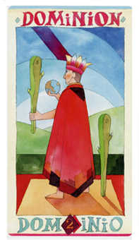 Two of Wands Tarot Card - Napo Tarot Deck