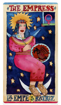 The Empress Tarot Card - Napo Tarot Deck
