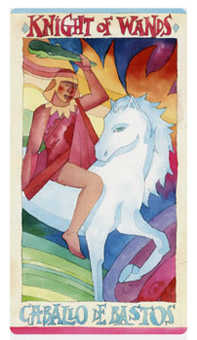 Warrior of Sceptres Tarot Card - Napo Tarot Deck