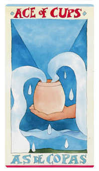Ace of Cups Tarot Card - Napo Tarot Deck