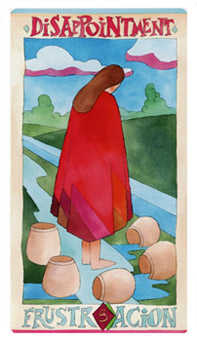 Five of Cups Tarot Card - Napo Tarot Deck