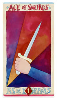 Ace of Swords Tarot Card - Napo Tarot Deck