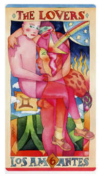 The Lovers Tarot Card - Napo Tarot Deck