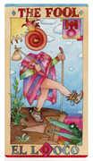 The Fool Tarot card in Napo Tarot deck