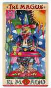 The Magus Tarot card in Napo Tarot deck