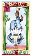 The Hanged Man Tarot card in Napo Tarot Tarot deck