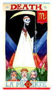 Death Tarot card in Napo Tarot Tarot deck