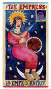 The Empress Tarot card in Napo Tarot Tarot deck