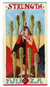 Nine of Wands Tarot card in Napo Tarot Tarot deck