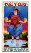 Page of Cups Tarot card in Napo Tarot Tarot deck