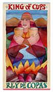 King of Cups Tarot card in Napo Tarot deck