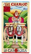 The Chariot Tarot card in Napo Tarot Tarot deck