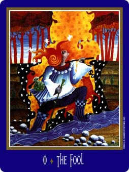 The Foolish Man Tarot Card - New Century Tarot Deck