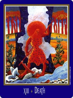 The Close Tarot Card - New Century Tarot Deck